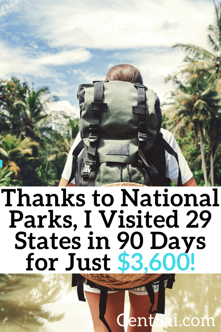 With a national parks pass at your side and a little bit of travel savvy, you can take a cross-country road trip for cheap!