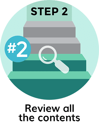 Review All the Contents