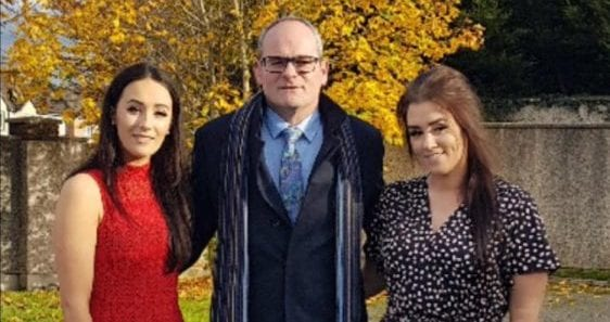 Niamh Ring with her dad and sister | Money Lessons My Father Taught Me