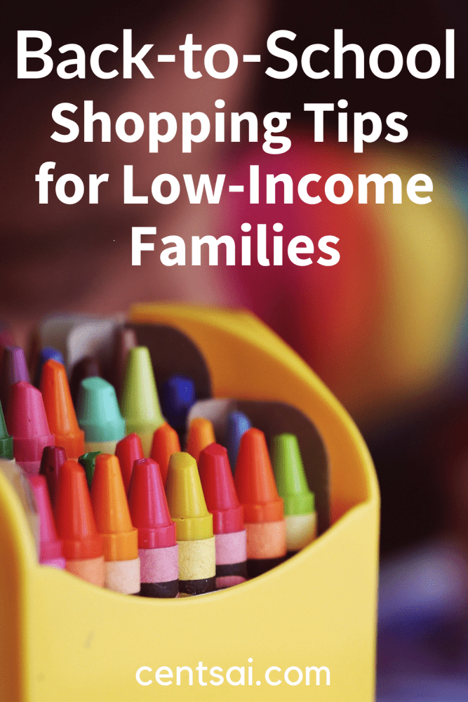 Back-to-School Shopping Tips for Low-Income Families. It's tough to get your kids ready for the new school year when the budget is tight. Check out these back-to-school shopping tips to help make ends meet. #educationblogs #insufficientfunds #backtoschool #backtoschoolshoppingtips