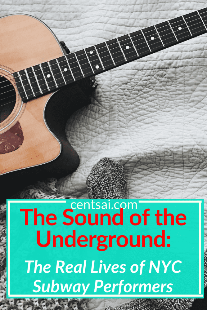 The Sound of the Underground: The Real Lives of NYC Subway Performers. Do NYC subway performers intrigue you? Or are they a nuisance? Whether you find them awesome or annoying, learn what their lives are really like. #careeradvice #careerideas